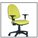 Sillas de oficina sillas operativas mobiliario de for Muebles de oficina ibiza